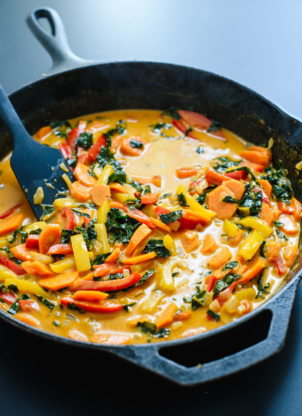 Love Real FoodThai Red Curry with Vegetables - cookieandkate.com