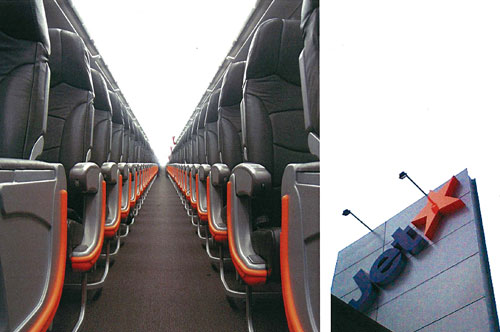 Aircraft interiors, and airports across Australia