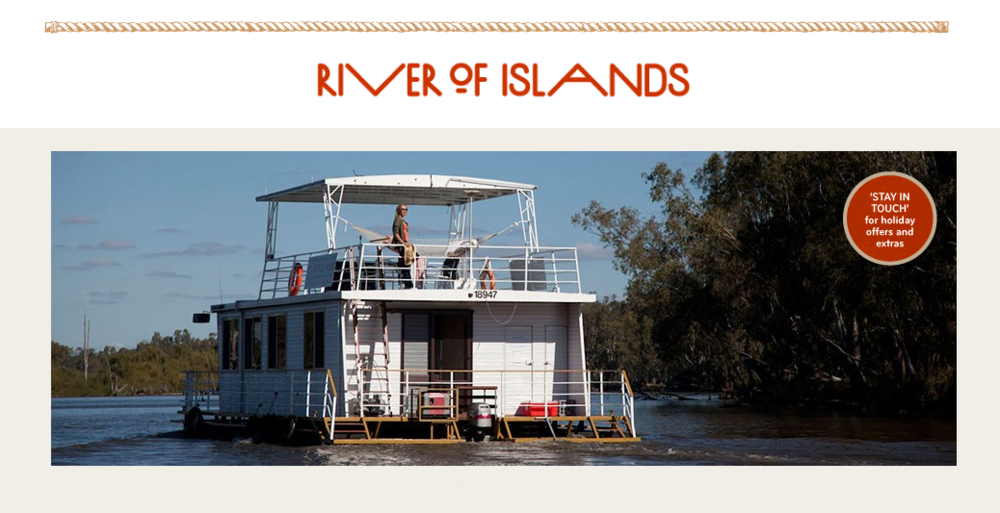 Website development – www.riverofislands.com