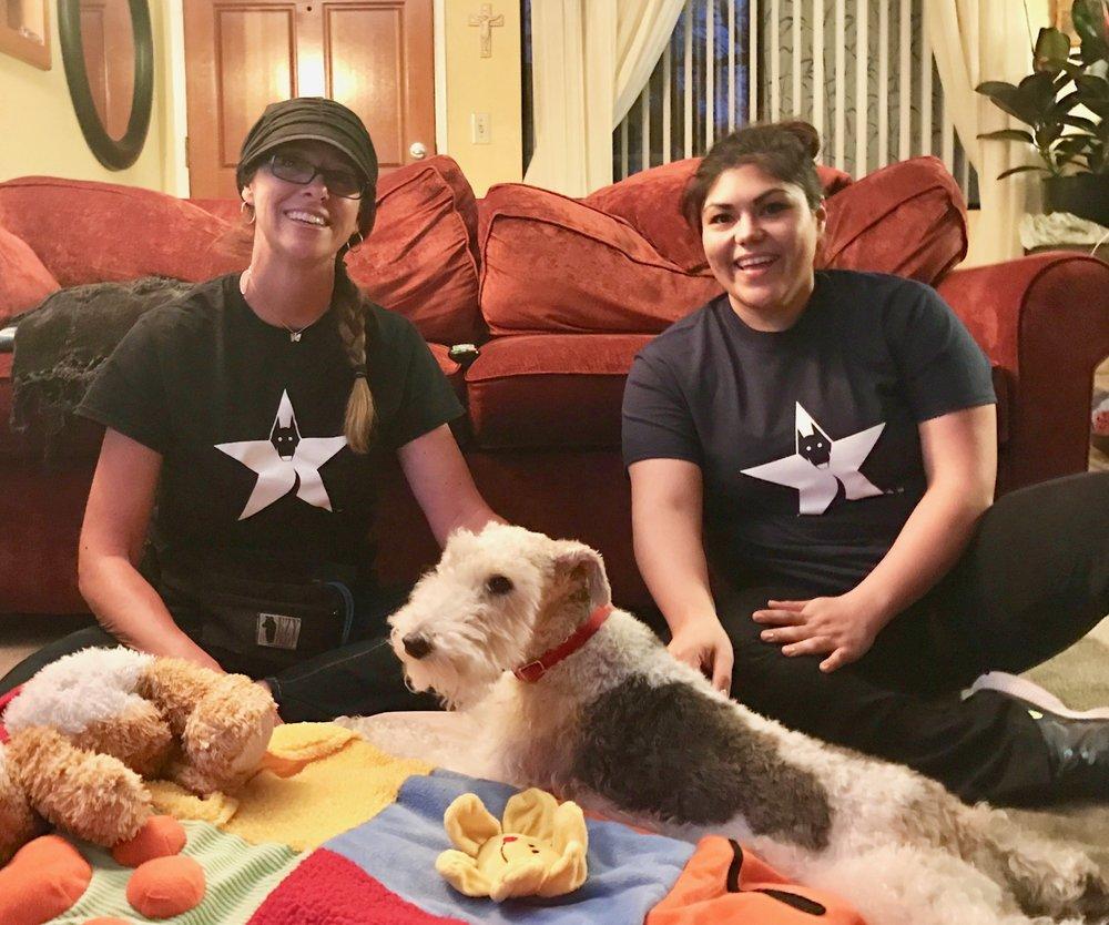 Good Dog Walker & Pet Sitter, Sylvia (right side)