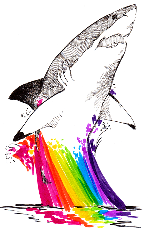 sharkrainbow