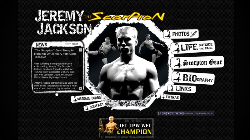 Jeremy 'The Scorpion' Jackson