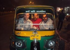India, Delhi - Getting around town
