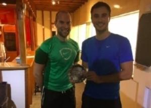 FINAL of local squash tournamount