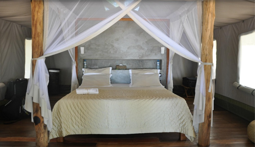 Stunning Bed at Eden Lodge Nosy Be