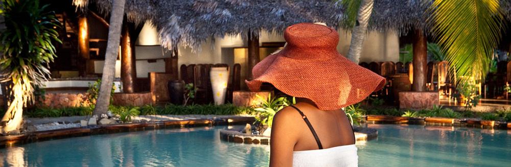 The beautiful Ravintsara Wellness Hotel, Nosy Be