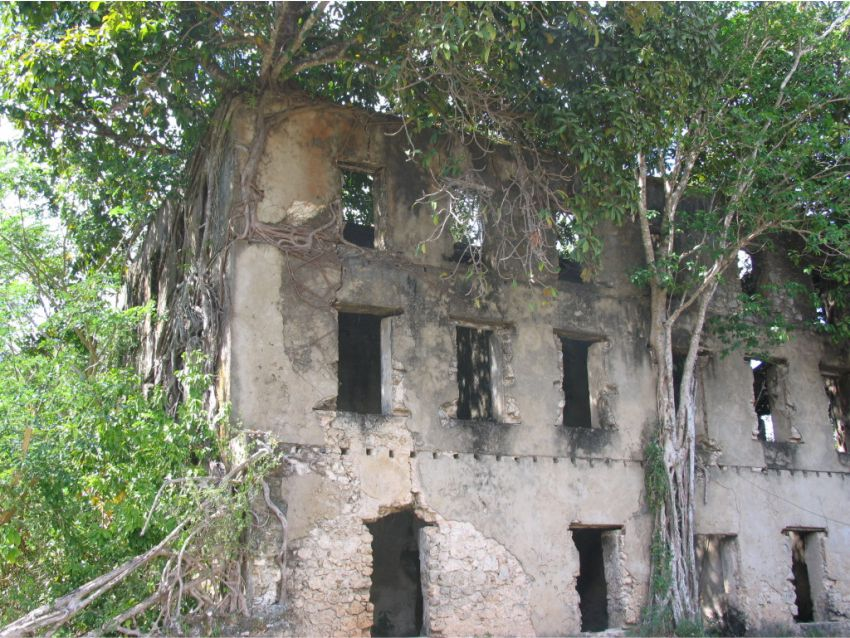 Old Buildings on the A Full Day Cultural Tour of Nosy Be Island with Madagascat