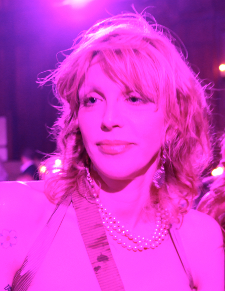 COURTNEY LOVE<BR/>NEW YORK 2010