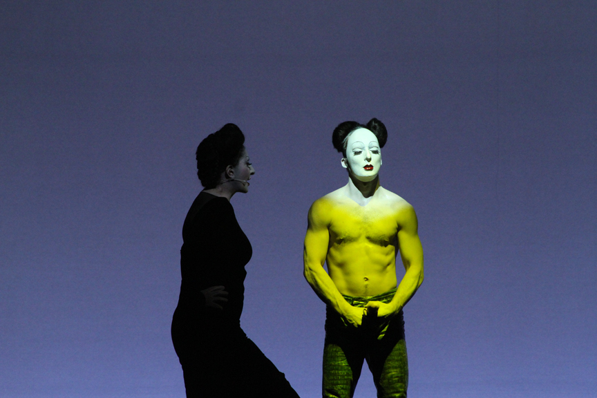 MARINA ABRAMOVIC & ANDREW GILCHRIST<BR/>MANCHESTER 2011