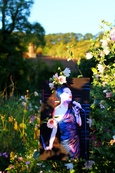 JUSTIN VIVIAN BOND IN NEW YORK REPHOTOGRAPHED IN GIVERNY 2012