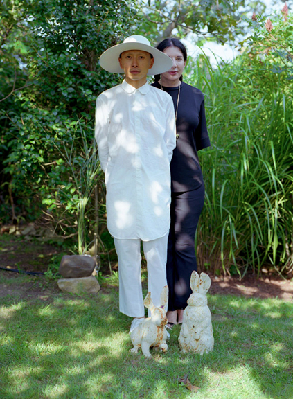 TERENCE KOH &<BR/>MARINA ABRAMOVIC<BR/>MONTAUK 2012