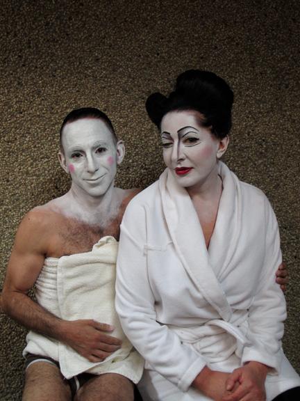 MARINA ABRAMOVIC &<BR/>TONY RIZZI<BR/>ANTWERP 2012