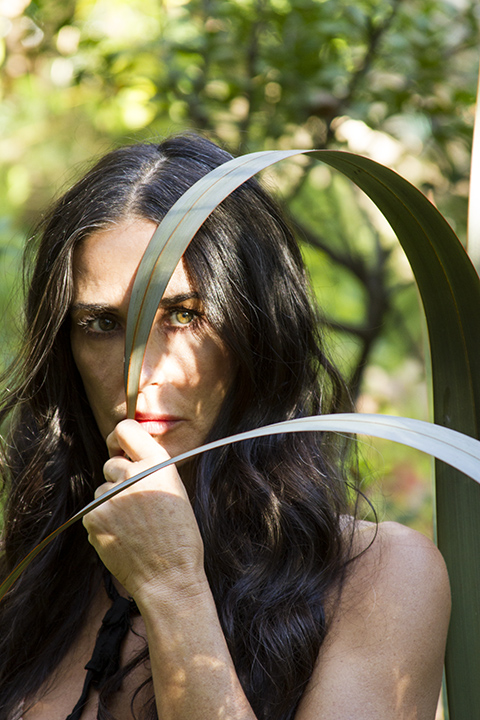 DEMI MOORE <br/>LOS ANGELES 2015