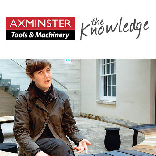 March 2018  axminster tools & Machinery  meet the maker video