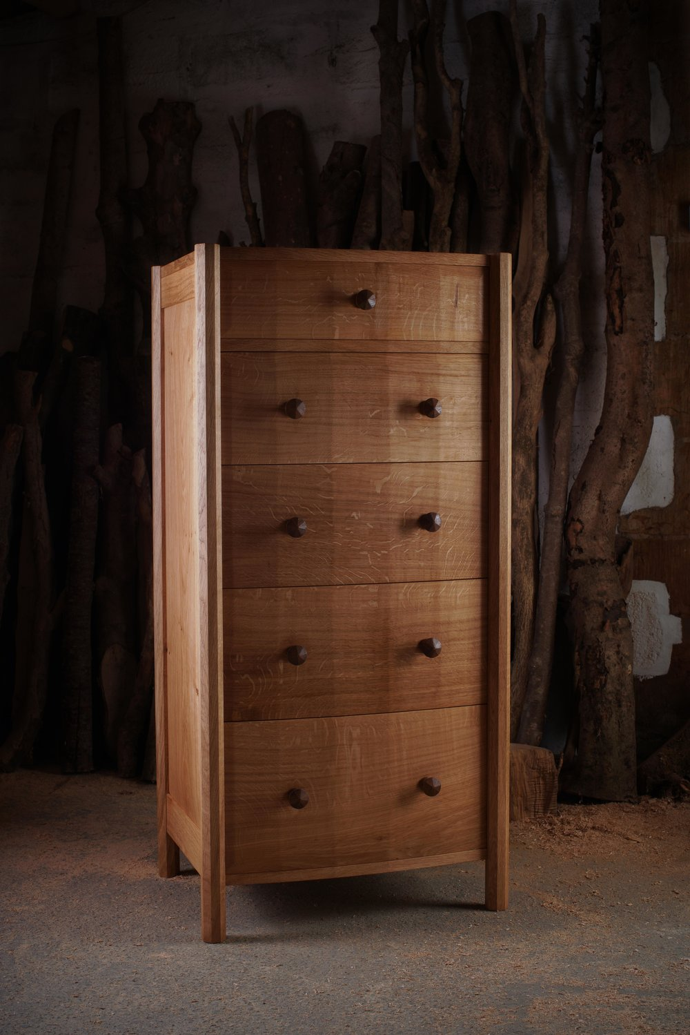 """ Facets ""  Chest of Drawers"