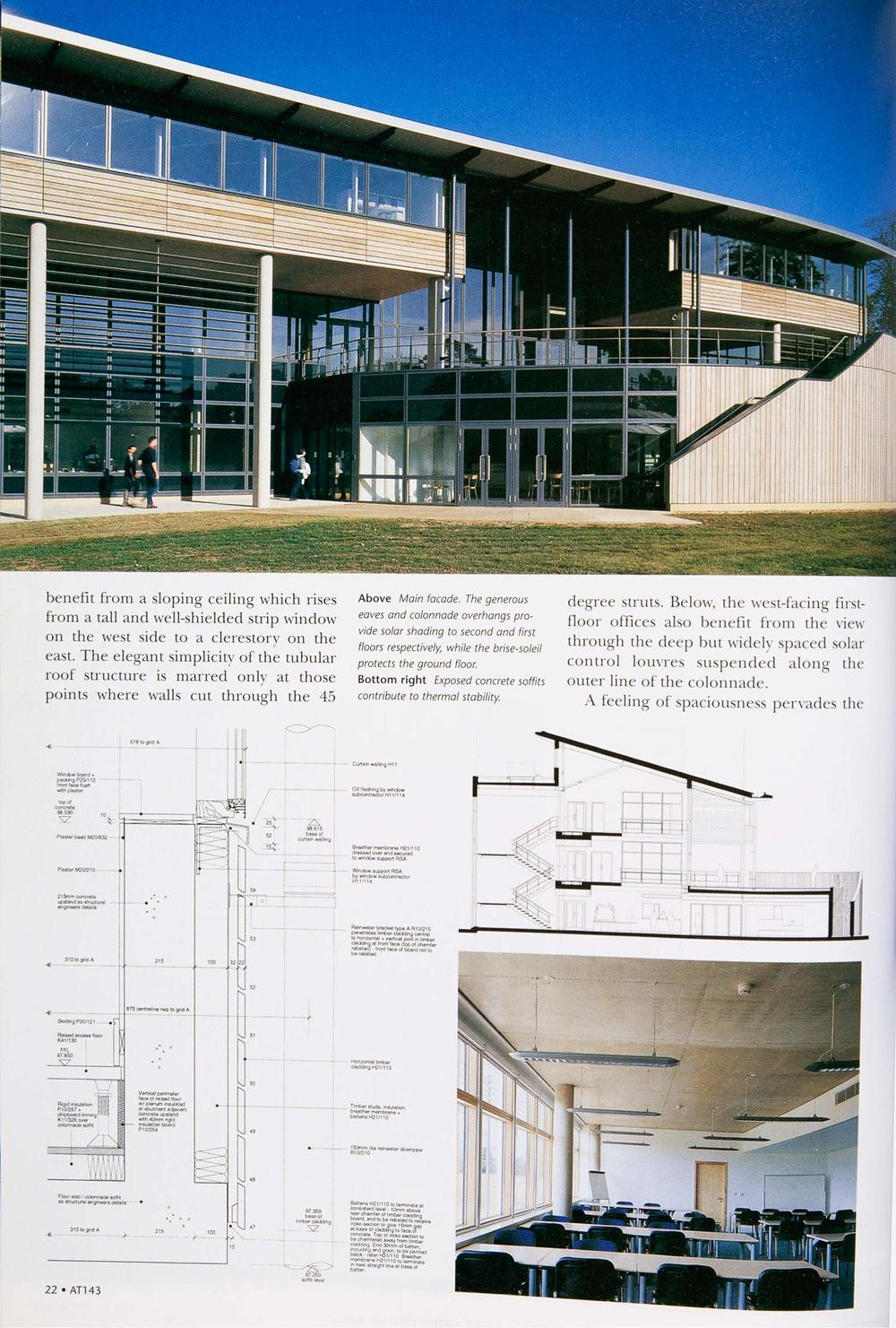 Architecture Today - The Royal Veterinary College
