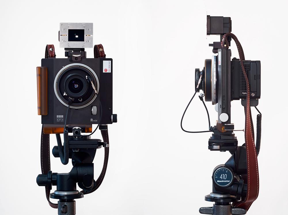 Arca Swiss Rm3d camera