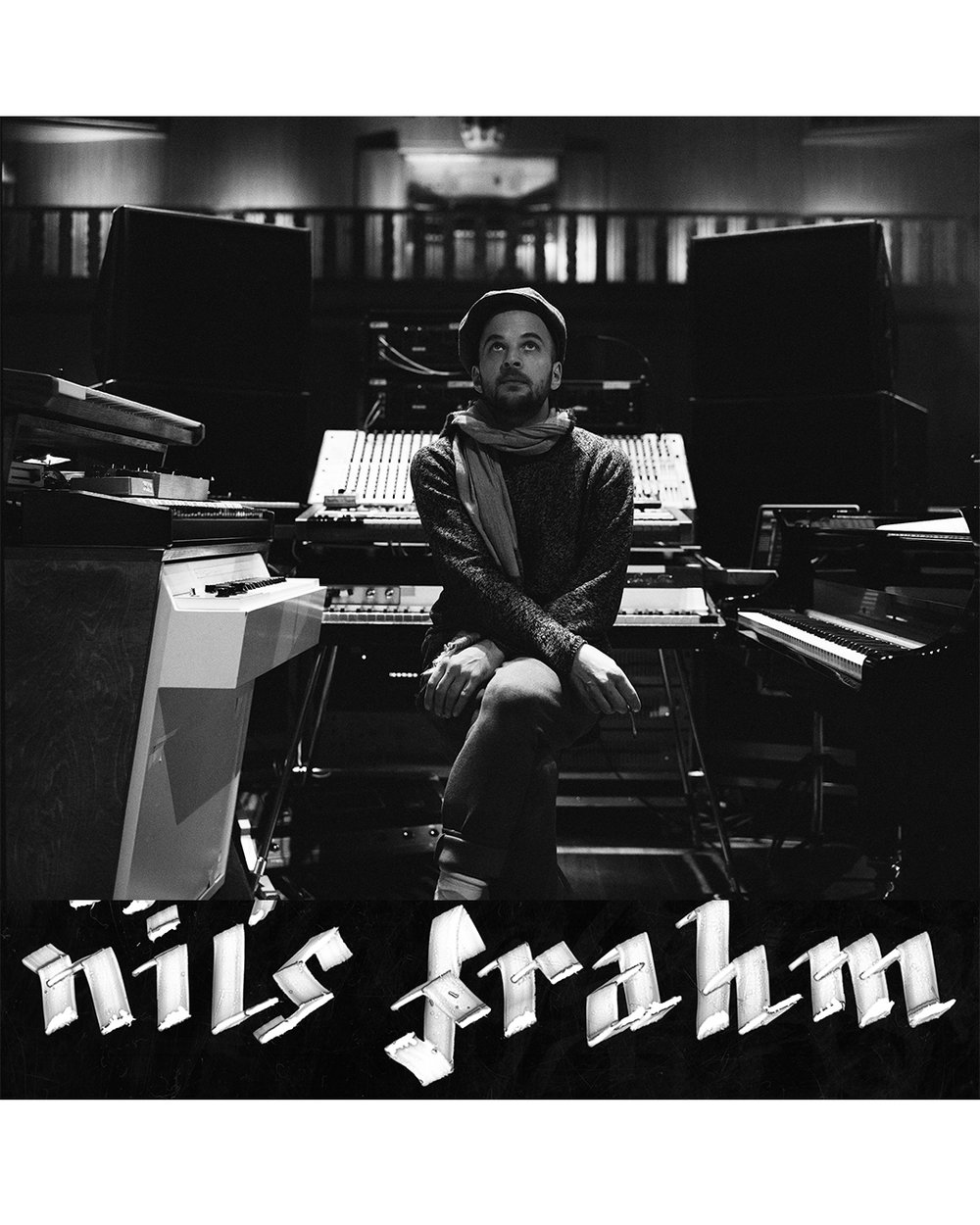 NIls Frahm for XLR8R coming soon  shot at a private concert at Funkhaus before a world tour