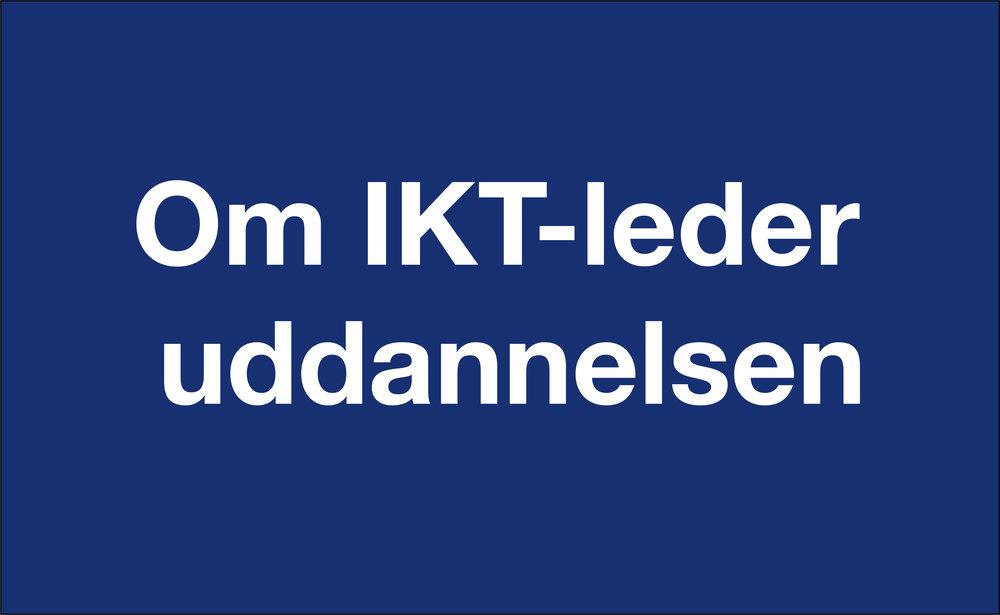 Klik her for at læse mere om IKT-leder uddannelsen