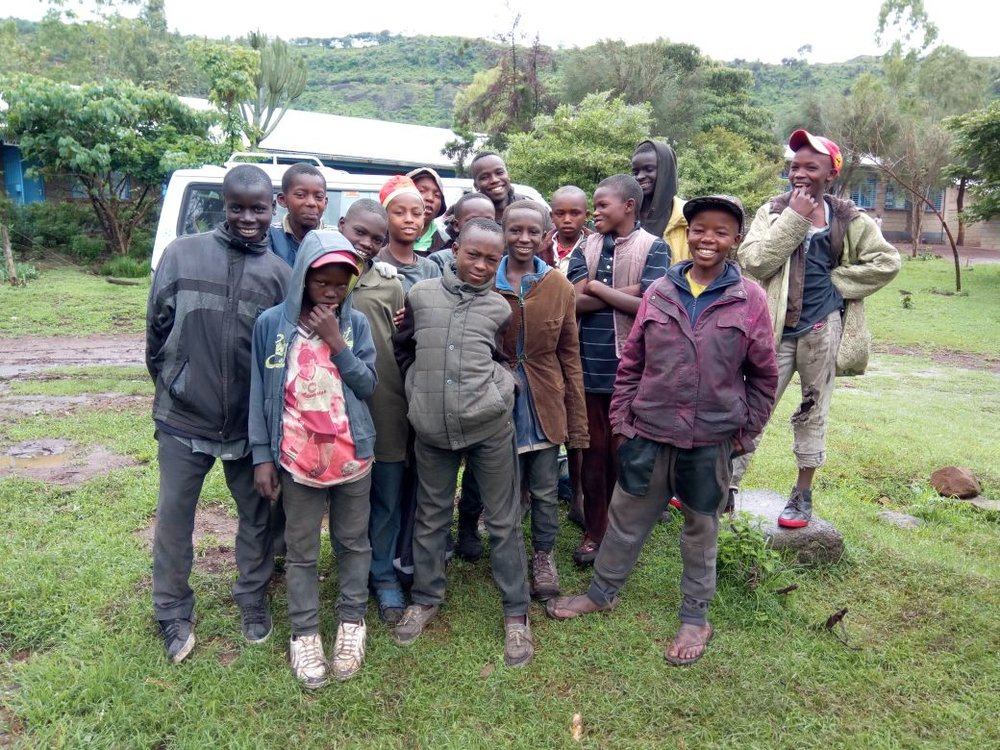 Last month, 20 boys were rescued from the streets of Kenya.