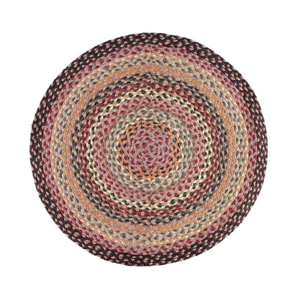 round jute rug round jute rug 4u0027 natural fiber 6 ft x 6 ft round area rug coast jute. Black Bedroom Furniture Sets. Home Design Ideas