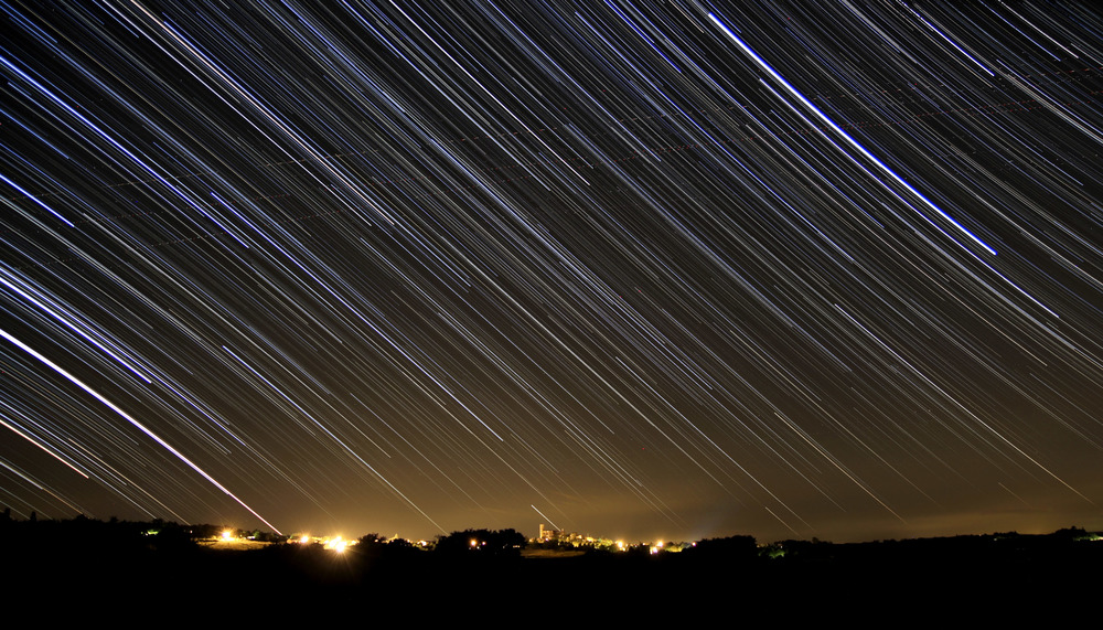Startrails over Montreal
