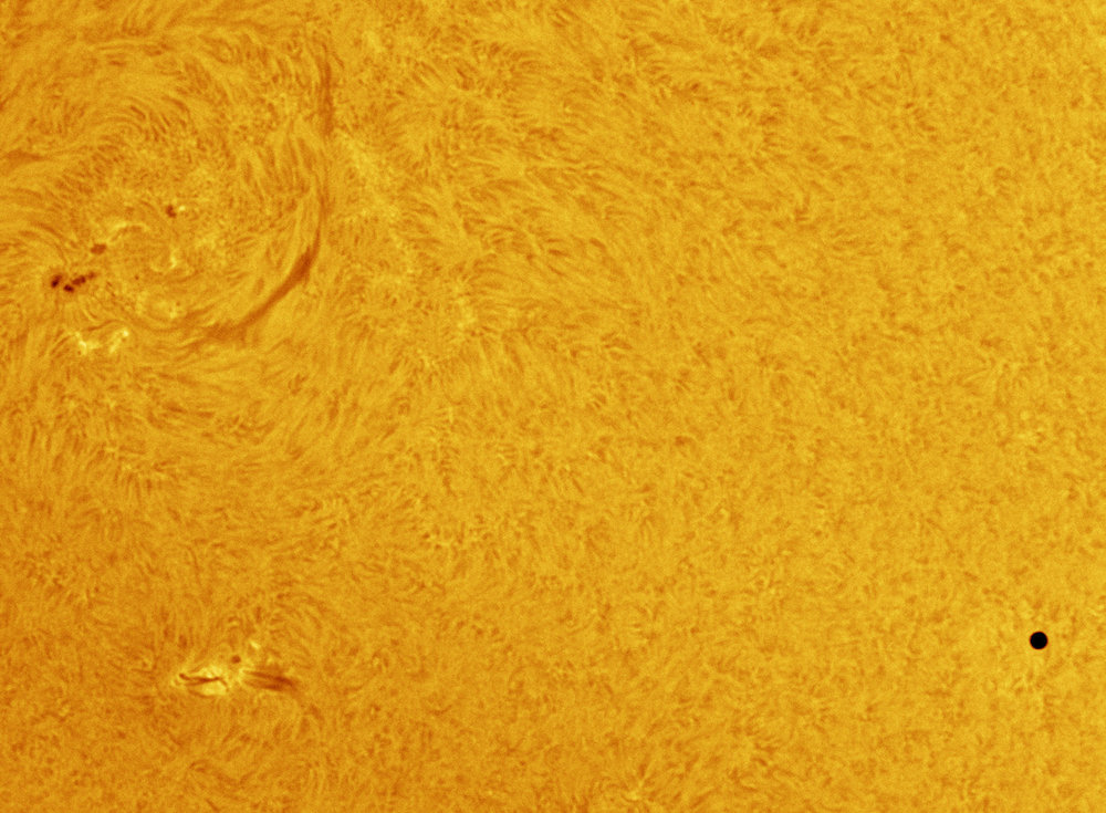 Mercury and AR2542