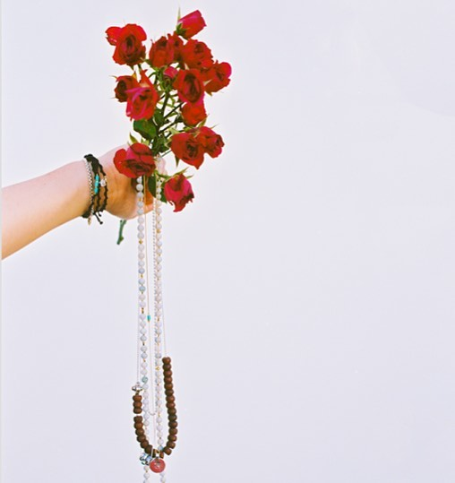 Selected Tibetan pieces with hand crafted lotus flower counter beads and bodhi tree beads now @storm_copenhagen