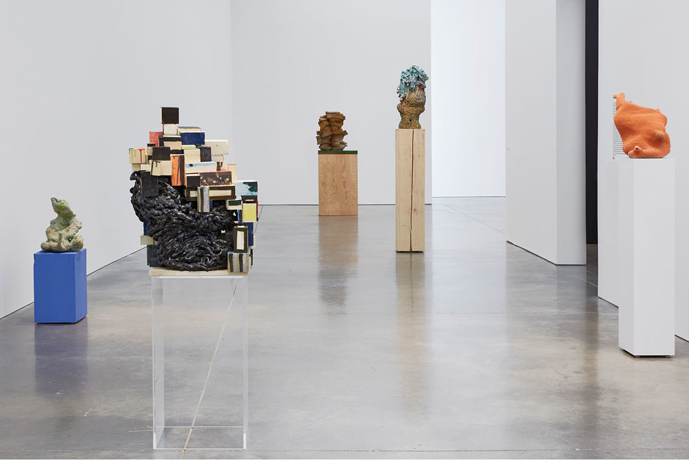 Installation view,  All At Once , twenty-year survey at the ICA Boston, 2015.