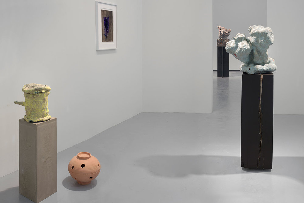 Installation View,  The Sound of It , solo exhibition at Jack Shainman Gallery, NY, 2010.