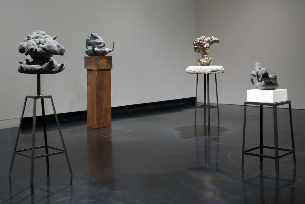 Installation view,  Blow by Blow ,solo exhibition at the Tang Museum, Skidmore College, NY, 2009.
