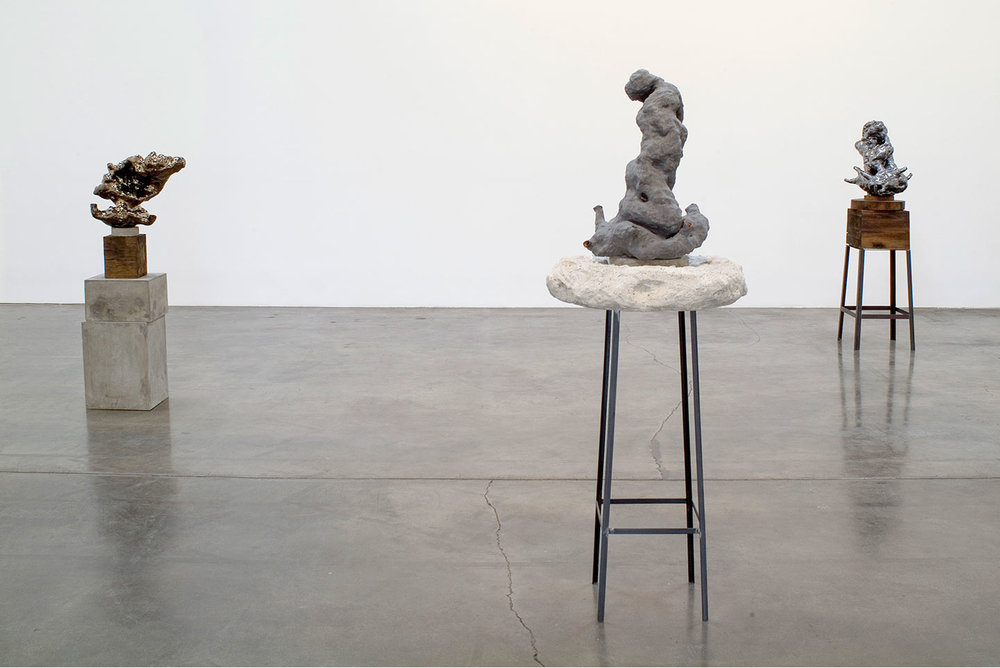 Installation view, Now & Away, solo exhibition at Shoshana Wayne Gallery, CA, 2008.