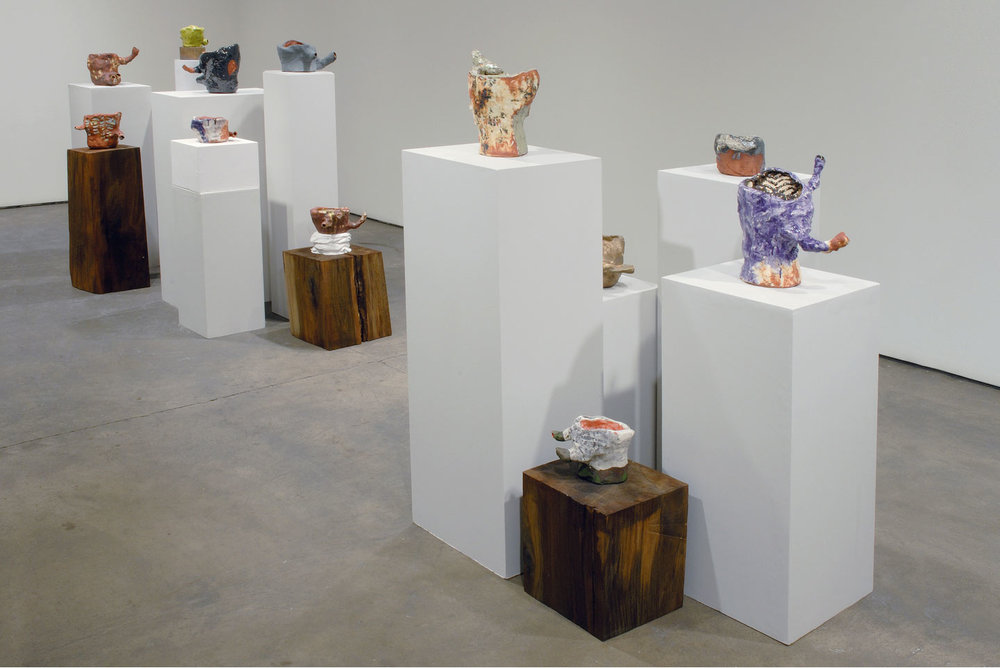 Installation view, New Work, solo exhibition at Elizabeth Harris Gallery, NY, 2007.