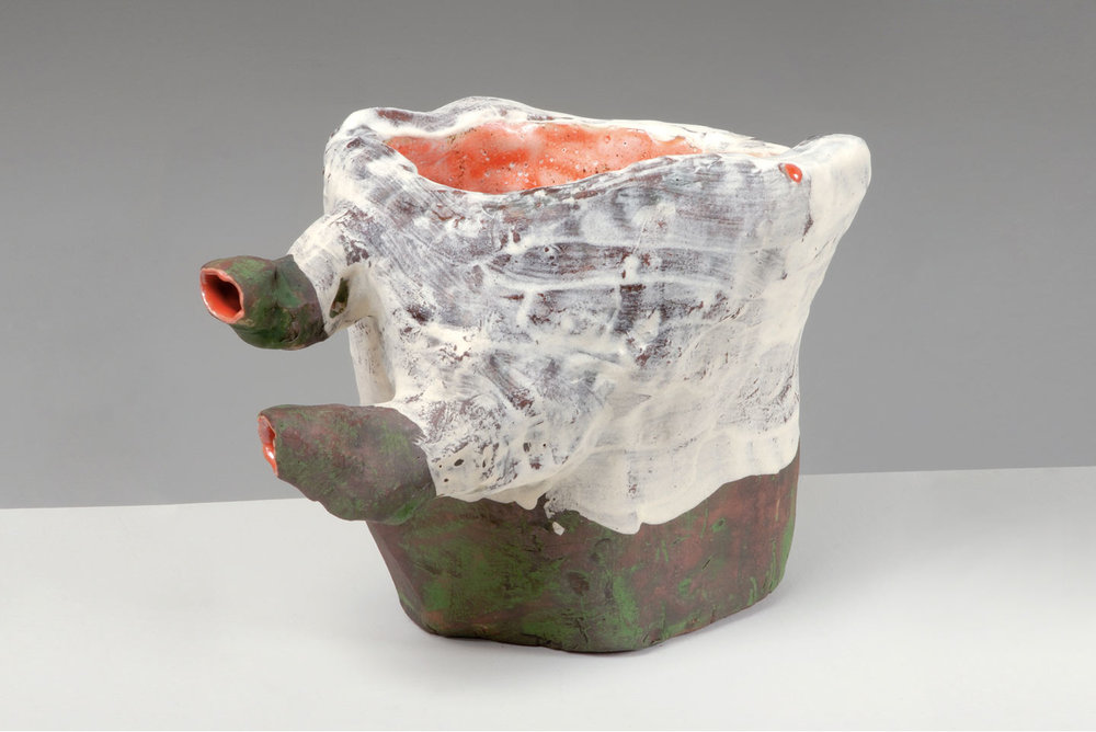 Y Wabi M , 2007. glazed ceramic. 6 x 8 x 7 in.