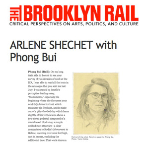 Interview with Phong Bui in Brooklyn Rail