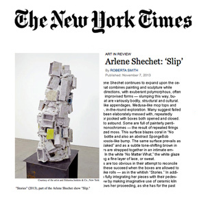 NY Times Review - Roberta Smith