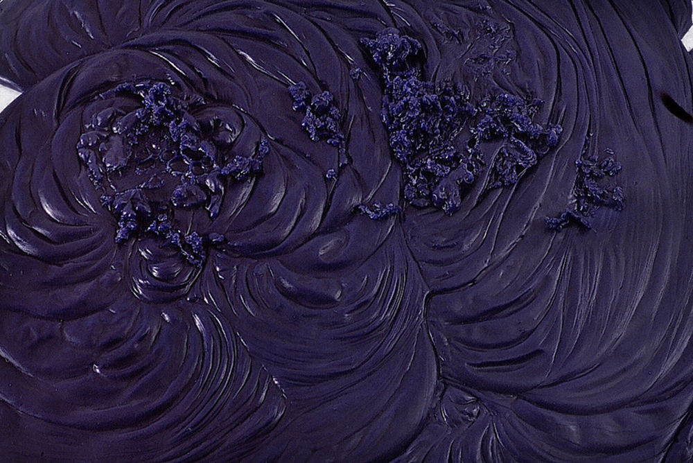 detail, Large Pool and Maine Squeeze, 2002. Pigmented cast rubber.