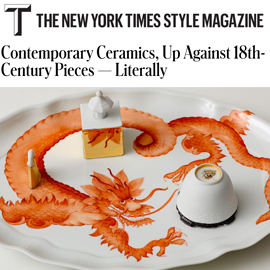 The New York Times T Magazine: Porcelain, No Simple Matter