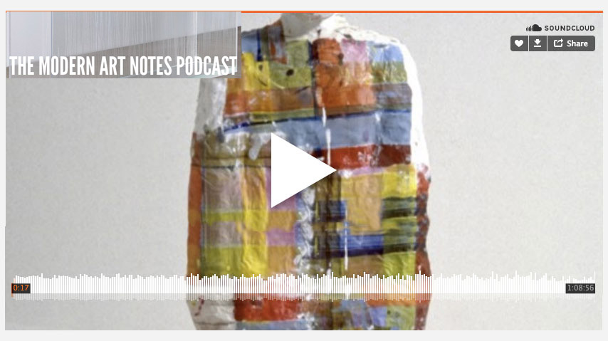 Modern Art Notes Podcast  Arlene Shechet interviewed by Tyler Green