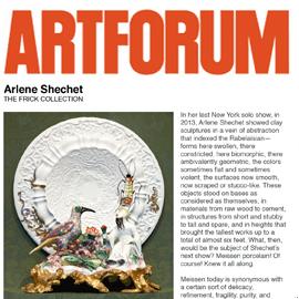 Artforum: Porcelain, No Simple Matter
