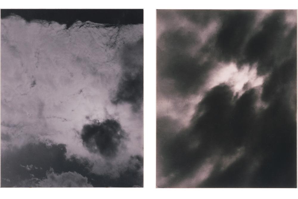 Alfred Stieglitz,Songs of the Sky, 1923. Gelatin silver print. 4.5 x 3.625 inches. Alfred Stieglitz,Equivalent, 1926. Gelatin silver print. 4.75 x 3.625 inches.