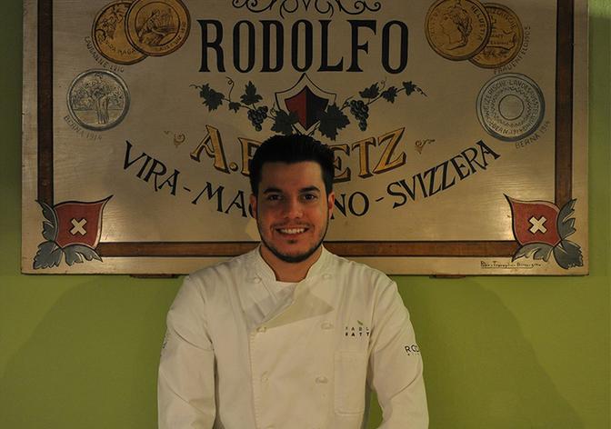 Pablo Ratti - 30 giugno 1987, titolare e chef
