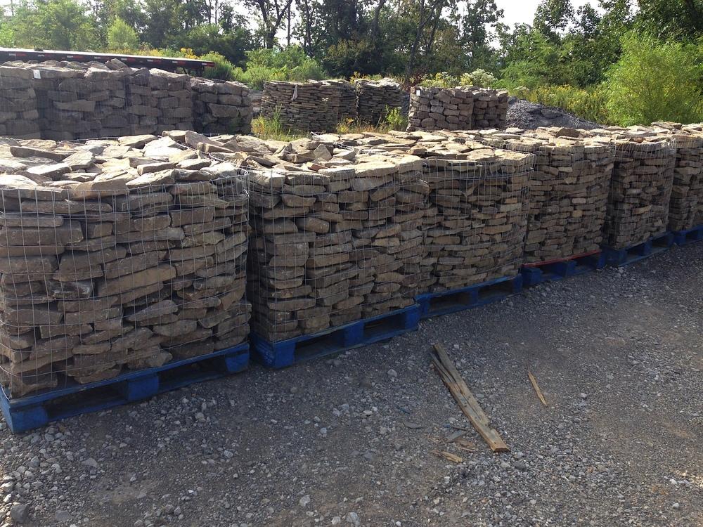 Stacked Tennessee Fieldstone : Tn fieldstone — tennessee stone company llc