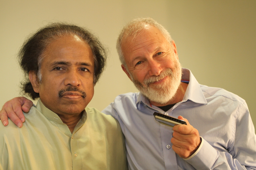 Dr. L. Subramaniam and Corky Siegel