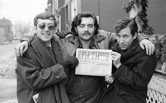 Russ Chadwick, Jim, Corky - Detroit 1966?