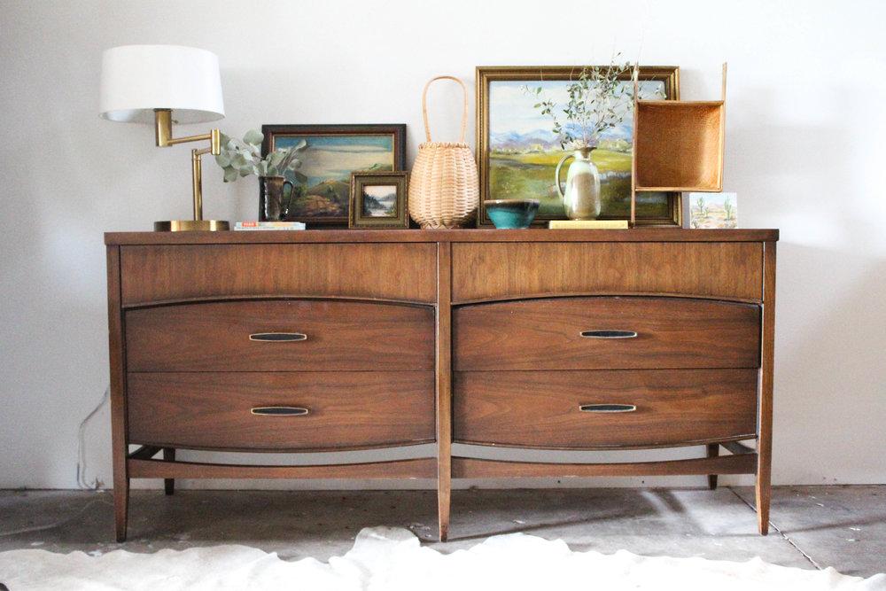 Mid Century Dresser Mm Vintage