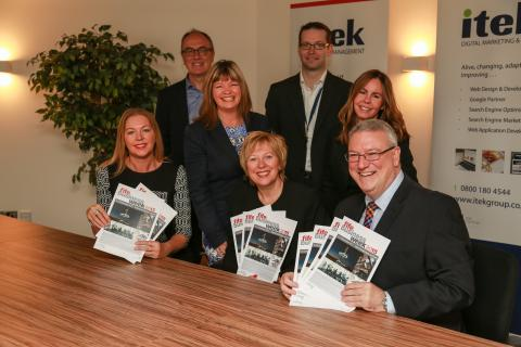 Councillor Lesley Laird visited Itek Systems Management in Glenrothes to announce that Fife Business Week is in its sixth year.