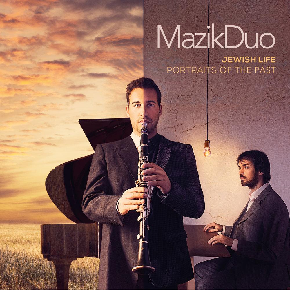 Jewish Life, Portraits of the Past - MazikDuo   Buy Album →