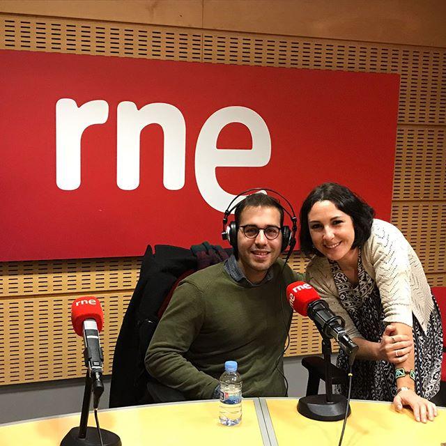 Hace unos instantes en Radio Nacional presentando #jewishlife. #madrid #album #radio @tempsrecord