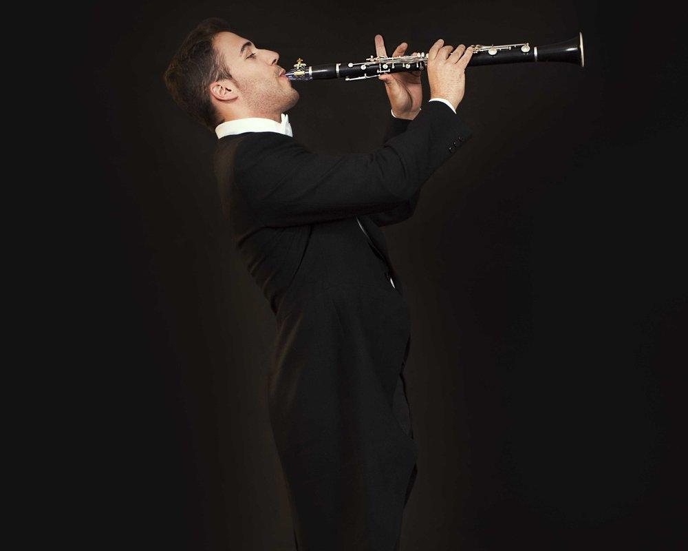 Tolo Genestar - clarinetist